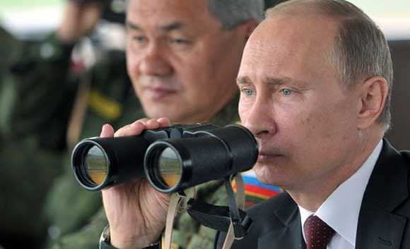 Vladimir Putin announced that the National Guard is being created in Russia