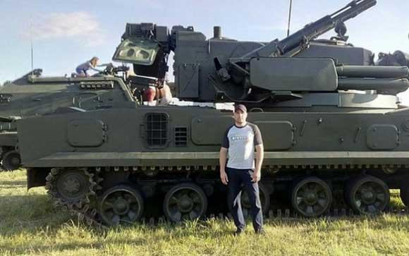 Спецназовец Вадим Тумаков был убит в Сирии во время боев с ИГИЛ