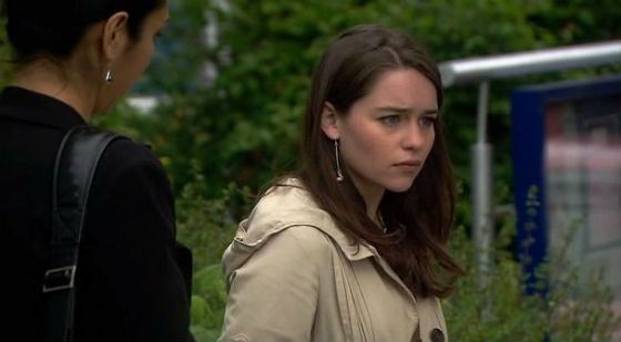 The first Emilia Clarke's TV role (Doctors)