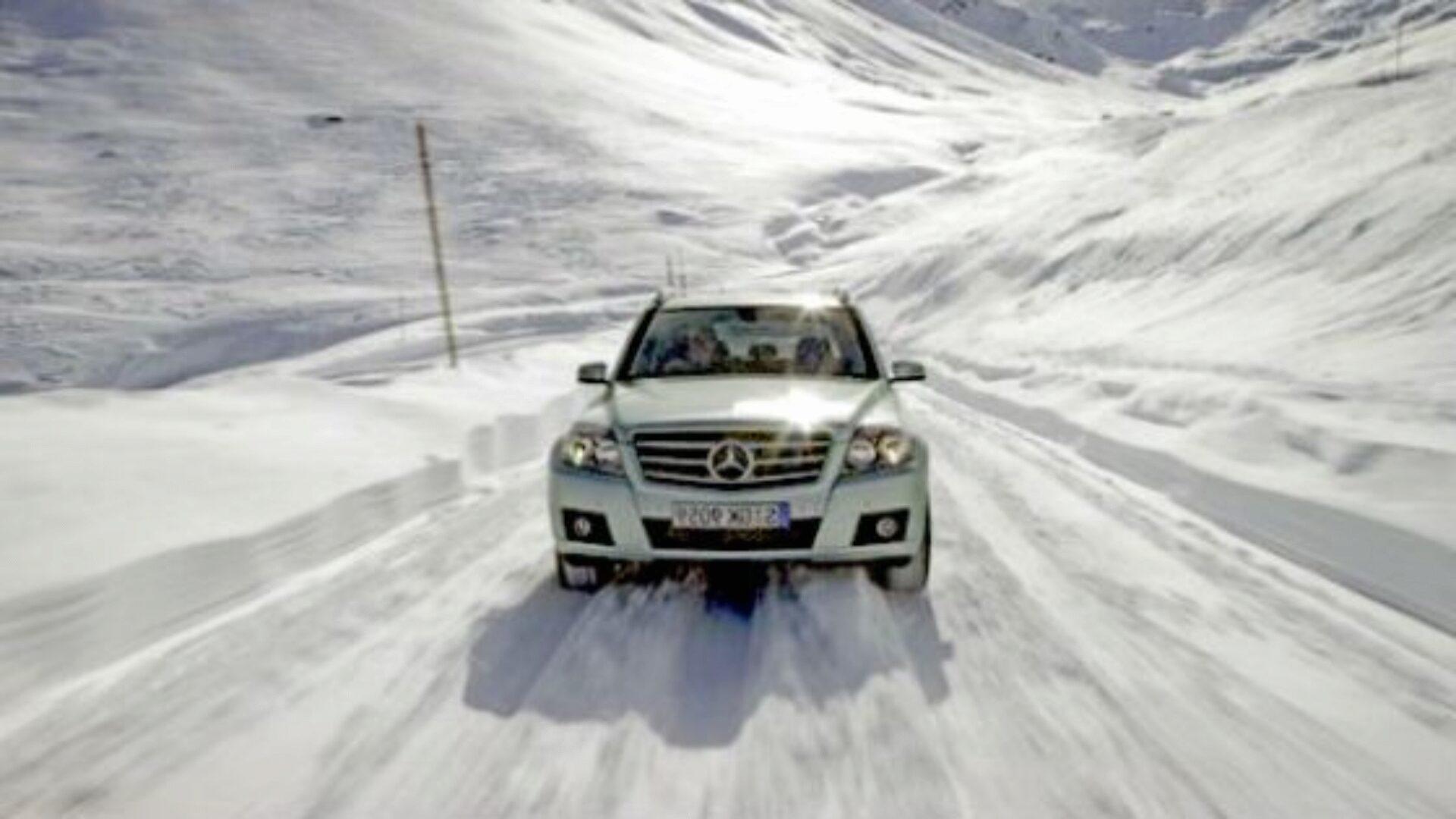 Зимние шины позволят ездить с комфортом