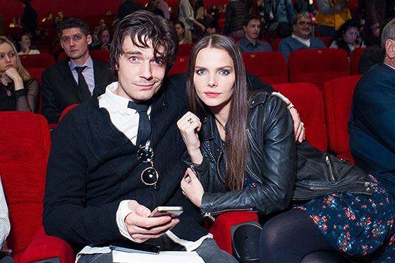 Лиза и Максим на премьере