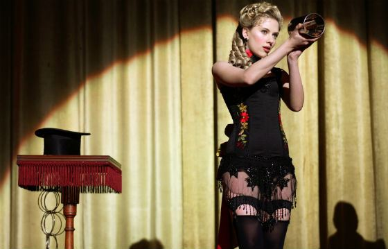«The Prestige»: Scarlett Johansson in the role of the magician's assistant