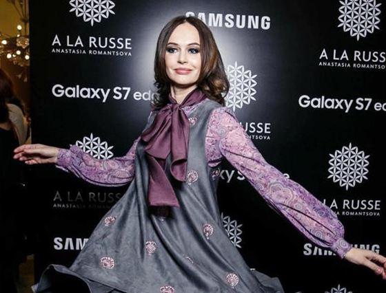 Ирина на модном показе