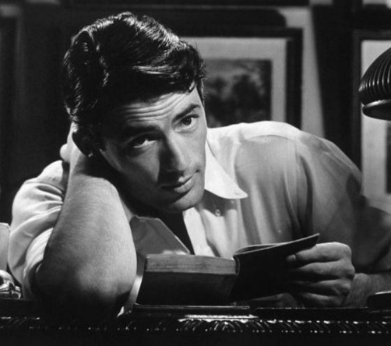 """Many remember Gregory Peck in the film """"Roman Holiday"""""""