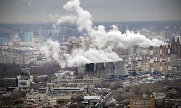 В Москве из-за штиля объявлена первая степень экологической опасности