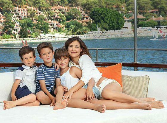 Актриса екатерина климова с детьми