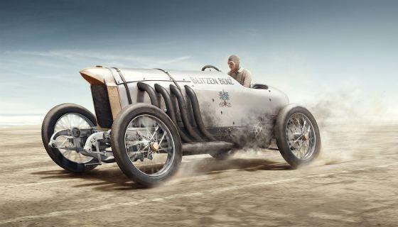 Blitzen-Benz - передовой автомобиль для своего времени