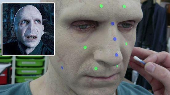Burnunun olmaması Lord Voldemort