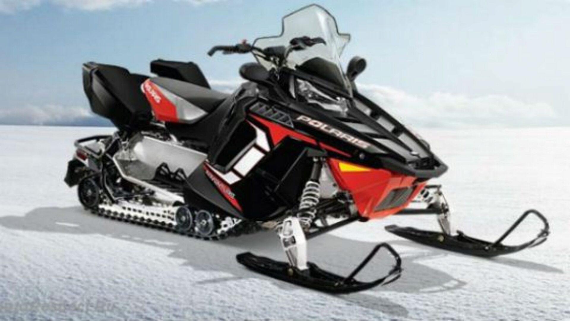 В регионах с затяжной зимой снегоход - удобный транспорт