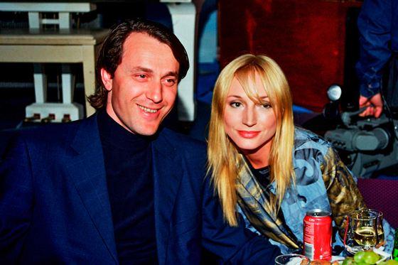 Ruslan Baysarov and Kristina Orbakaite
