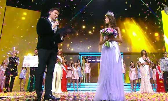 Яна Добровольская получила корону Мисс России