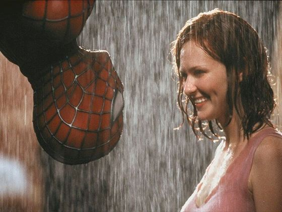 Kirsten Dunst and Spiderman