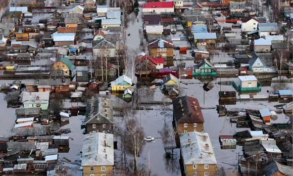 В Вологодской области подтопило почти 1,4 тысячи домов