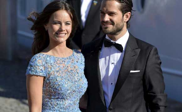 Принц Швеции и его супруга София впервые стали родителями