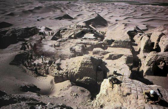 Раскопки шумерского города Ниппур