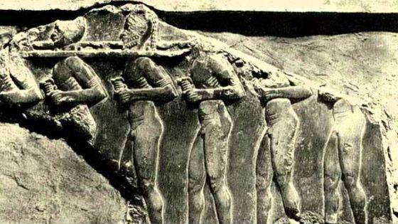 Шумеры использовали рабский труд
