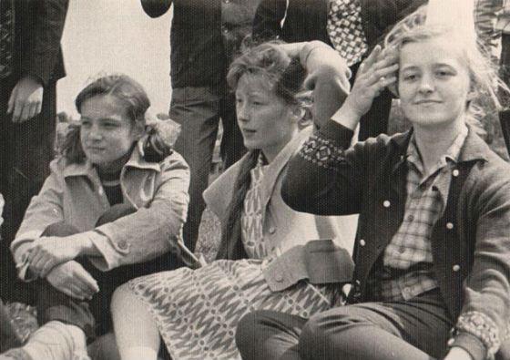 Юная Алла Пугачева в 60-е годы