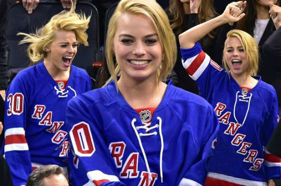 Margot Robbie is «Rangers» fan