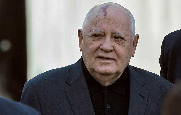 Mikhail Gorbachev was hospitalized in a Moscow hospital
