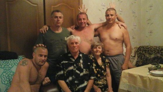 Семья погибшего полицейского