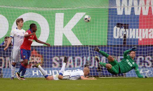 CSKA beat Dynamo in the Russian Premier League
