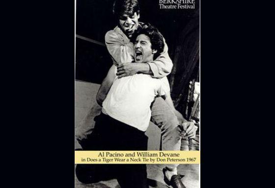 Аль Пачино в спектакле «Носит ли тигр галстук?»