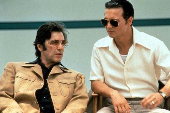 Аль Пачино и Джонни Депп играли вместе в «Донни Браско»