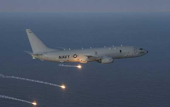 Российский истребитель «условно» перехватил американский самолет-разведчик P-8 Poseidon