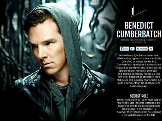 Empire Magazine: «Benedict Cumberbatch – the sexiest actor for today»