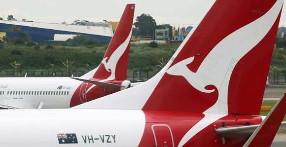 В Австралии вылет лайнера компании Qantas задержали из-за странной сети Wi-FI