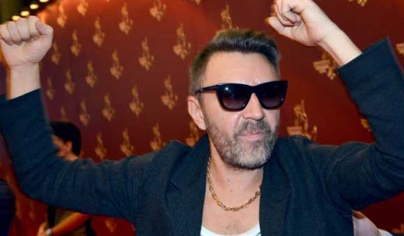"Sergei Shnurov called ""pop homeless"""