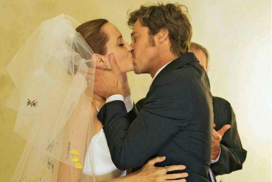 Angelina Jolie and Brad Pitt - a Hollywood style wedding!
