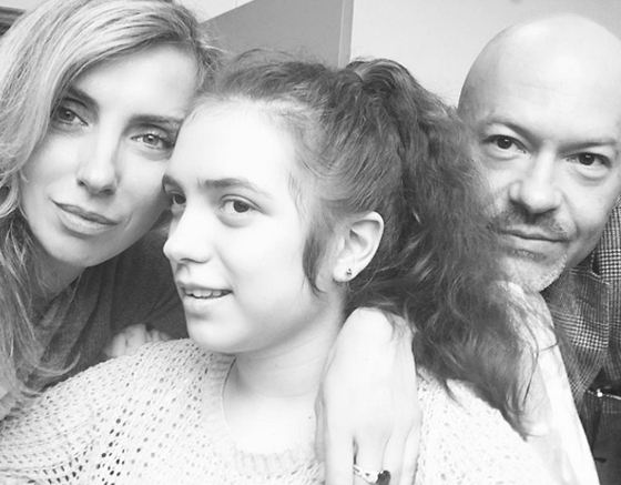 Светлана и Федор с дочкой Варей