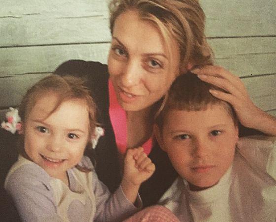 Светлана с детьми