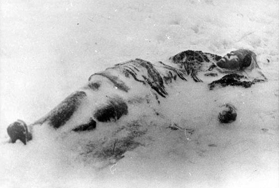 Еще живую девочку бросили в снег умирать