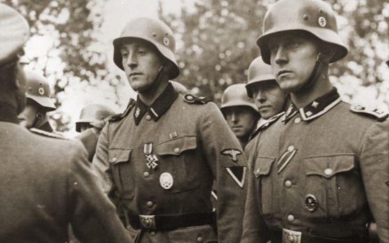 Солдат СС в фильме сыграли эстонцы
