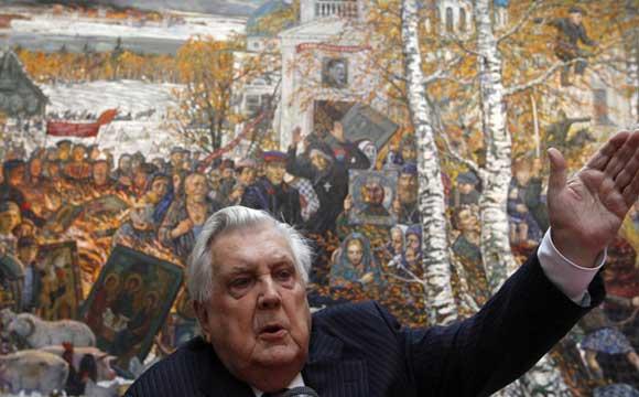В столице госпитализирован 85-летний живописец Илья Глазунов