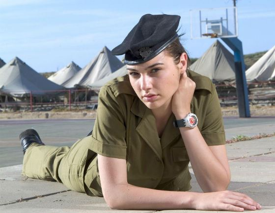 Gal Gadot served almost 2 years in the army of Israel