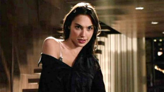 Gal Gadot in the movie