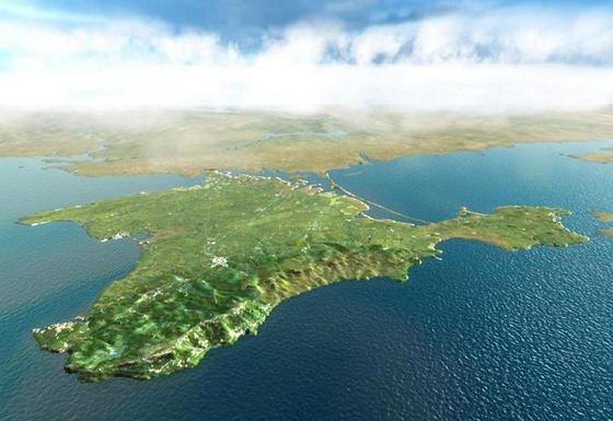 Украинцы предложили сделать из Крыма остров
