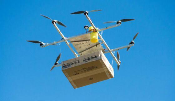 2016 год: Amazon доставляет посылки при помощи дронов