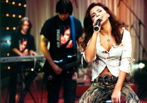 2004 год: Ани Лорак в программе «Твой формат» на канале М1