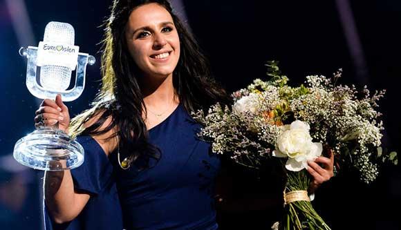 Певица Джамала, ставшая победительницей «Евровидения»