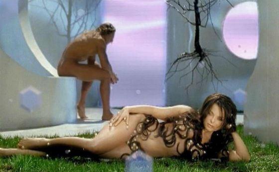 Съемки клипа Наташи Королевой «Рай там, где ты»