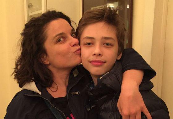 Наташа Королева: «Мой взрослый сынуля!» (2015 год)