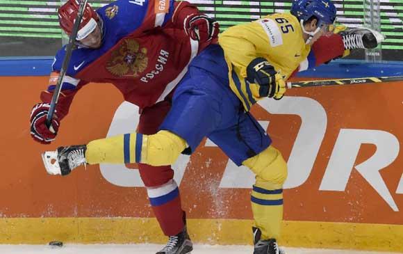 Россия обыграла Шведов со счетом 4:1