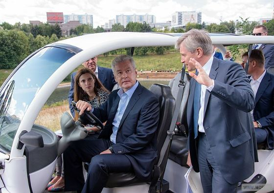 Сергей Собянин планирует благоустройство Олимпийского парка