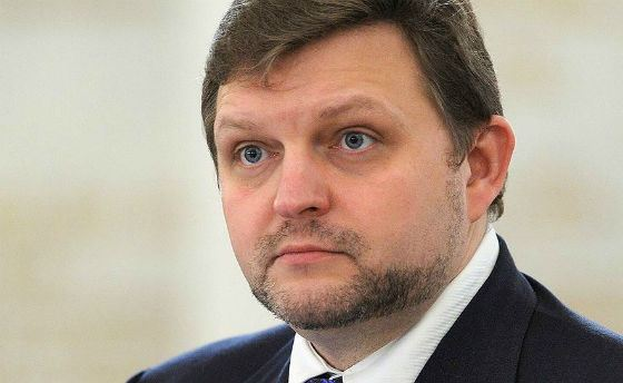 In the photo: ex-governor Nikita Belykh