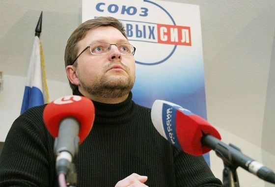 From 2005 to 2008, Nikita Belykh headed the Union of Right Forces.