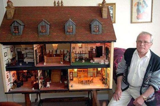 Кукольные домики увлекают детей и взрослых